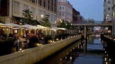 Locali lungo il canale, Aarhus