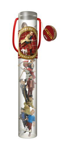 Plastoy The Adventures of Tintin Tintin Collectors Tube P…