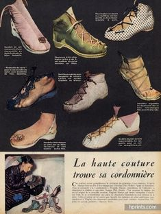 Virginia Sharpe (Shoes) 1949 Sandales, Botillons
