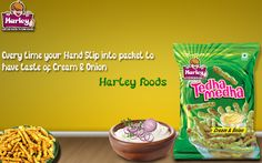 Tantalizing Taste Of Onion and Cream To Spice Up Your Taste Buds!.http://www.harleyfoods.com