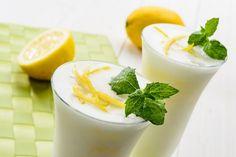 Sorbete cremoso de limón