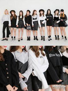 Korean girl's fashion 마리쉬 ♥ 패션 트렌드북