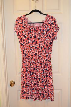 Lilly Pulitzer Floral Print Dress-EUC-Size Large #LillyPulitzer #Sundress #Casual