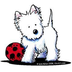 West Terrier, Terriers, West Highland Terrier, Cartoon Dog, Cartoon Pics, Cute Cartoon Wallpapers, Animal Drawings, Cute Drawings, Dolly Parton