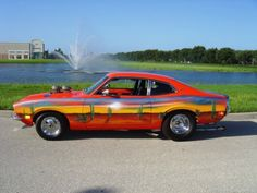 If I had to take a wild guess, I'd say that the seller of this 1973 Ford Maverick would have enjoyed the Eliminator-era ZZ Top music videos I linked to last wee Bracket Racing, L Car, Ford Maverick, Roll Cage, Car Ford, Good Ole, American Muscle Cars, Drag Racing, Custom Cars