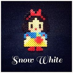 Snow White perler beads by siamparagoy