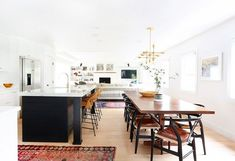 Open concept kitchen, living room, family room