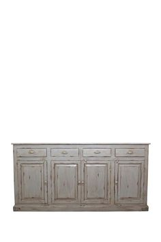 Chadwick Sideboard Oyster Gray by Decorative Leather Books on @HauteLook
