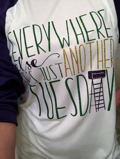 Mardi Gras Raglan Shirt  Everywhere Else Its by NOLAnoteworthy