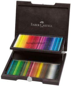 Faber Castell Polychromos assorti hout kist 72st