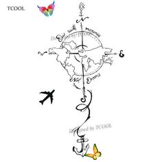 HXMAN Plane To Earth Temporary Fake Tattoo Body Art Sticker Waterproof Hand Tattoo Sticker fo... HXMAN Plane To Earth Temporary Fake Tattoo Body Art Sticker Waterproof Hand Tattoo Sticker for Men 9.8X6cm E-023 | nabitoo.com,  #98X6cm #Art #BODY #BodyArt #E023 #Earth #Fake #Hand #HXMAN #Men #nabitoocom #Pläne #Sticker #tattoo #Temporary #Waterproof<br> Hand Tattoos, Handmade Accessories, Jewelry Accessories, Tattoos For Guys, Cool Tattoos, Hand Sticker, Kids Christmas Ornaments, Florida Woman, Resin Charms