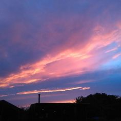 Stunning Clare sky (no filter applied)