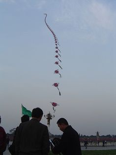 Flying a Kite by Joseph Lane, Beijing #Kite #Beijing #Joseph_Lane