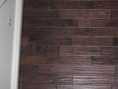 Up close with Old World Oak Handscraped in a customer home!  (As seen in Dream Home 2008!)