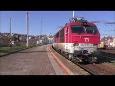 Vlaky: upútavka na lokomotívy rady 350 - YouTube Train, Youtube, Strollers, Youtubers, Youtube Movies