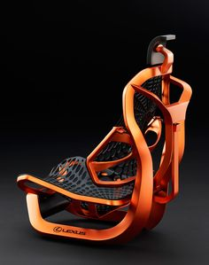 "rocketumbl: "" LEXUS Kinetic Seat Concept """
