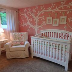 Baby girl nursery ideas can be given for your cute baby girl around aged 8 month to 2 year. The nursery ideas for your baby girl are given in order to make them comfort while sleeping or doing her activity in room. Nursery Themes, Nursery Room, Girl Nursery, Girls Bedroom, Nursery Decor, Nursery Ideas, Themed Nursery, Nursery Fabric, Woman Bedroom
