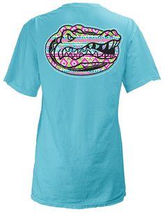 Florida Gators UF Aztec Print T-Shirt #beallsflorida