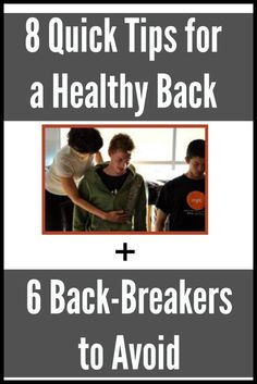 8 tips for a healthy back and better posture -- quick! | Fit Bottomed Mamas