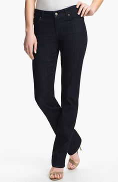 CJ by Cookie Johnson 'Faith' Straight Leg Stretch Jeans available at #Nordstrom