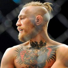 Conor McGregor Hair - Shaved Sides with Braided Top Knot