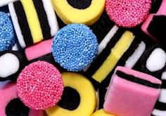 Photo about Licorice allsorts sweets. Image of blue, licorice, chewy - 91042 Liquorice Allsorts, Classic Candy, Party Sweets, Sweets Art, Kiwiana, Favorite Candy, Sushi Rolls, Candy Store, Candyland