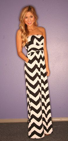 Sunkissed Stripe Maxi in Black | Impressions