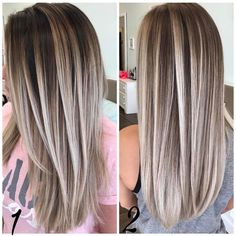 Sleek Long Hairstyles with Straight Hair - Straight Long Hair Cuts