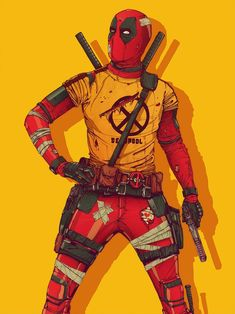 Deadpool 2 Character Illustrations - Created by Boneface