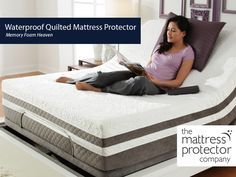 Our waterproof quilted mattress protector is made using polyurethane to keep you dry and to provide you comfortable sleep all the night. This unique breathable fabric has the characteristics of traditional waterproof material.