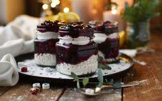 Glühwein-Mousse-Dessert: Merry Christmas
