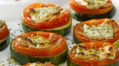 Prepara pizzas de zapallo italiano - Sabrosía