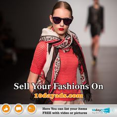 Sell your Fashion on 10dayads.com #FreeOnlineFashionSellingSite #PostAdsForFashioonSell #FashionAds