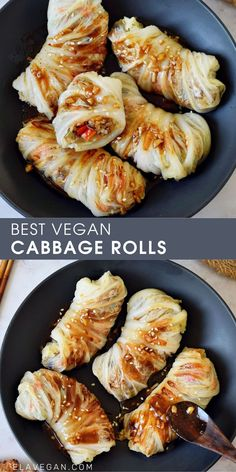 Veggie Recipes, Asian Recipes, Whole Food Recipes, Vegetarian Recipes, Cooking Recipes, Healthy Recipes, Vegan Main Dishes, Vegetable Dishes, Vegan Cabbage Rolls