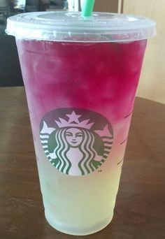 Starbucks Secret Menu: Citrus Berry Passion Refresher.