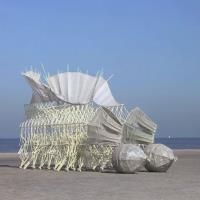 Theo Jansen's Strandbeests continue to evolve and this updated look at his creations will amaze you.