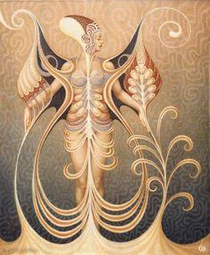 "Saatchi Art Artist Boris Indrikov; Painting, ""IUNO"" #art"