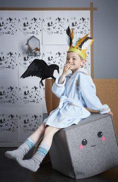Peignoir coton brodé Tipis & Canoës 4/6 ans Boy Room, Kids Room, Peignoir, Pillow Fight, Kid Spaces, Character Concept, Baby Kids, Infant, Childhood