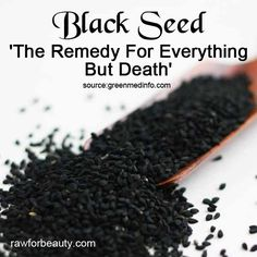 Black Seed - except being a remedy for almost anything - a good anti-inflammatory - you can grind it, mix well with twice the amount of honey. Take a big spoon in the morn in ,or you can mix the one spoon of the mixture with a hot water and sip it. It is an energy booster beside so many other benefits .