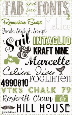 free fonts chalkboard fonts modern fonts dingbat fonts handwritting fonts - Fonts - Ideas of Fonts - free fonts chalkboard fonts modern fonts dingbat fonts handwritting fonts Cute Fonts, Fancy Fonts, Typography Fonts, Typography Design, Computer Font, Computer Help, Dingbat Fonts, Chalkboard Fonts, Cricut Fonts
