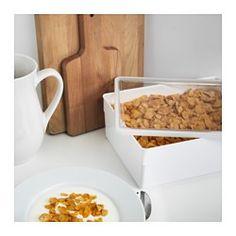 IKEA   TILLSLUTA, Vorratsbehälter Mit Deckel, Für übersichtliches Verwahren  Von Trockenvorräten. Die Behälter Gallery