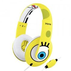 Nickelodeon iHome SpongeBob SquarePants Over-the-Ear Headphones