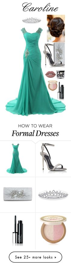 """Prom for my Friend"" by legolasluvr on Polyvore featuring Bling Jewelry, Tom Ford, Lime Crime, Clinique and Too Faced Cosmetics"