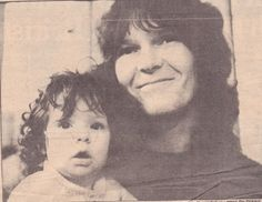 Chris Squire & daughter Carmen...he was the constant player. RIP