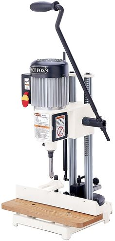Shop Fox HP Heavy-duty Mortising Machine is a performance oriented unit. The heavy duty unit carries impressive features like motor, drill chuck. Mortising Machine, Kitchen Base Cabinets, Support Columns, Wood Magazine, Drill Press, Wood Cutting, Woodworking Tools, Work Benches, Scuba Diving