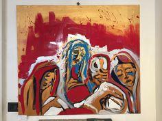 La Pietà - olio e acrilico su tela -100x90 cm- 2007