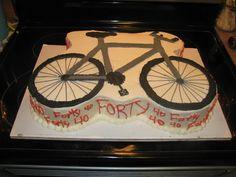 Mountain Bike For A 40th Birthday cakepins.com