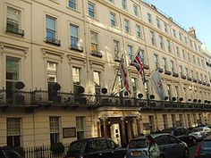 """""""At Bertram's Hotel""""/Joan Hickson was filmed at Brown's Hotel London/Piccadilly."""