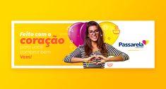 Lançamento | Passarela Supermercados on Behance Social Media Banner, Social Media Template, Social Media Design, School Advertising, Advertising Campaign, Web Design, Graphic Design Art, Facebook Cover Design, Youtube Banners