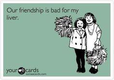 Bahahaha! True.
